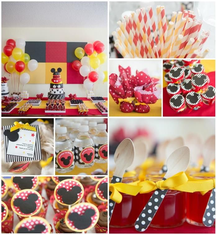 first birthday mickey mouse ideas | Mickey Mouse Party Planning Ideas Supplies Idea Cake Minnie Decoration