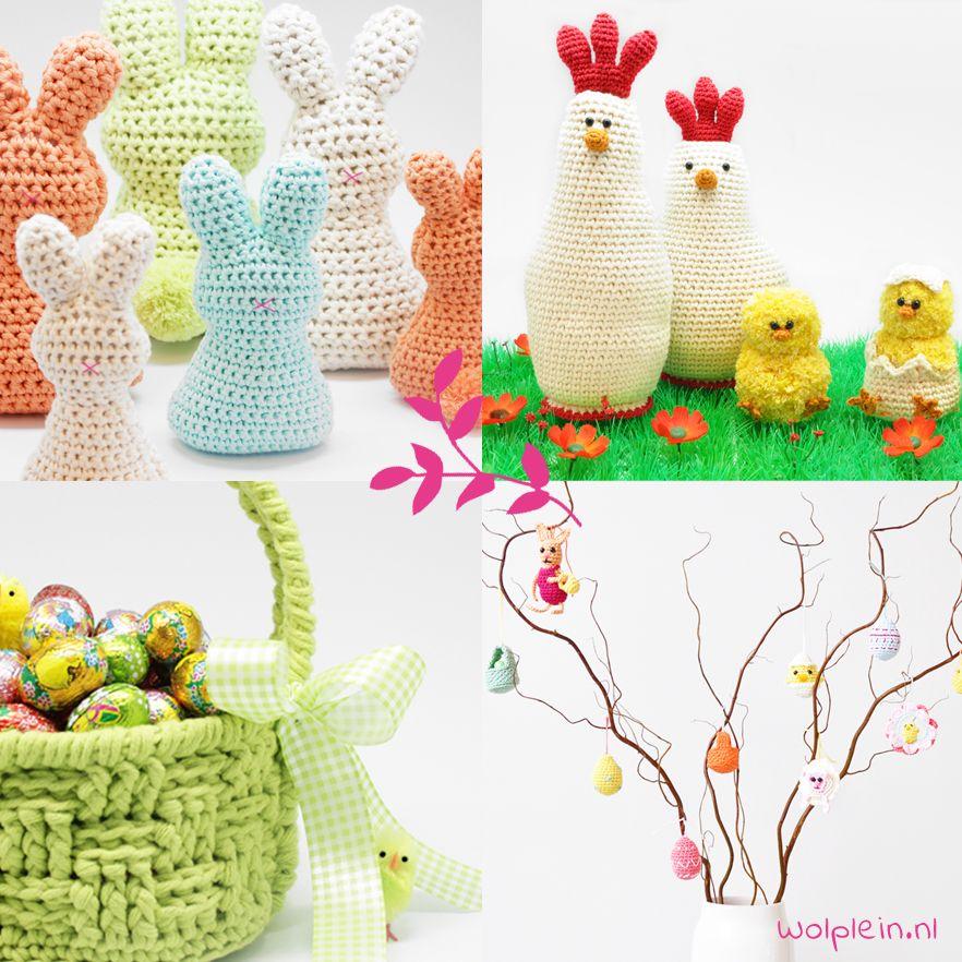 Haken en breien voor Pasen - De leukste gratis patronen!   Pinterest ...