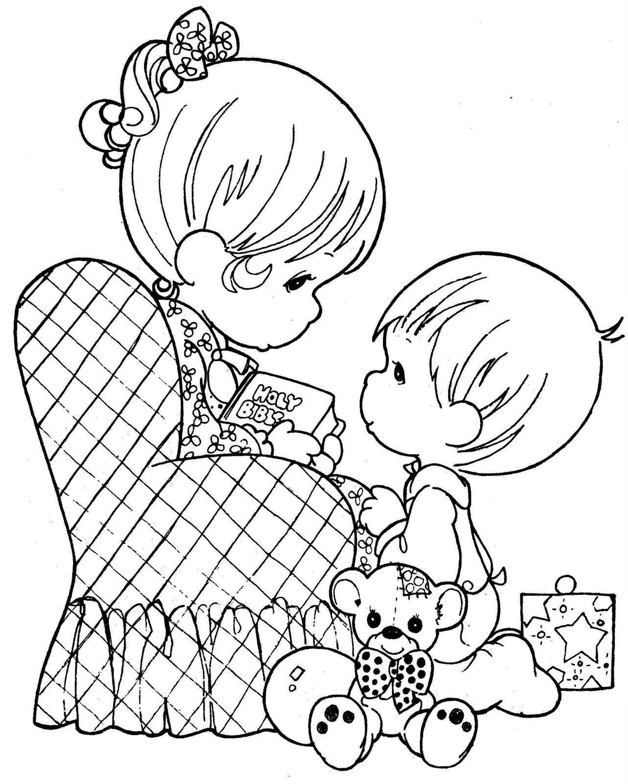 Precious Moments Coloring Pages - Bing Images | Coloring Crafts ...