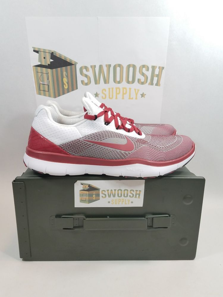 02f966942a877 Nike Free Trainer V7 Week Zero Oklahoma Sooners Size 8.5 Shoes AA0881-601   Nike  AthleticSneakers