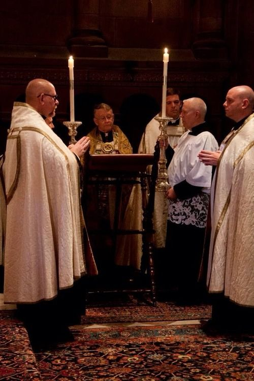 Solemn Evensong and Benediction at St Clement's, Philadelphia, June 21,2014.