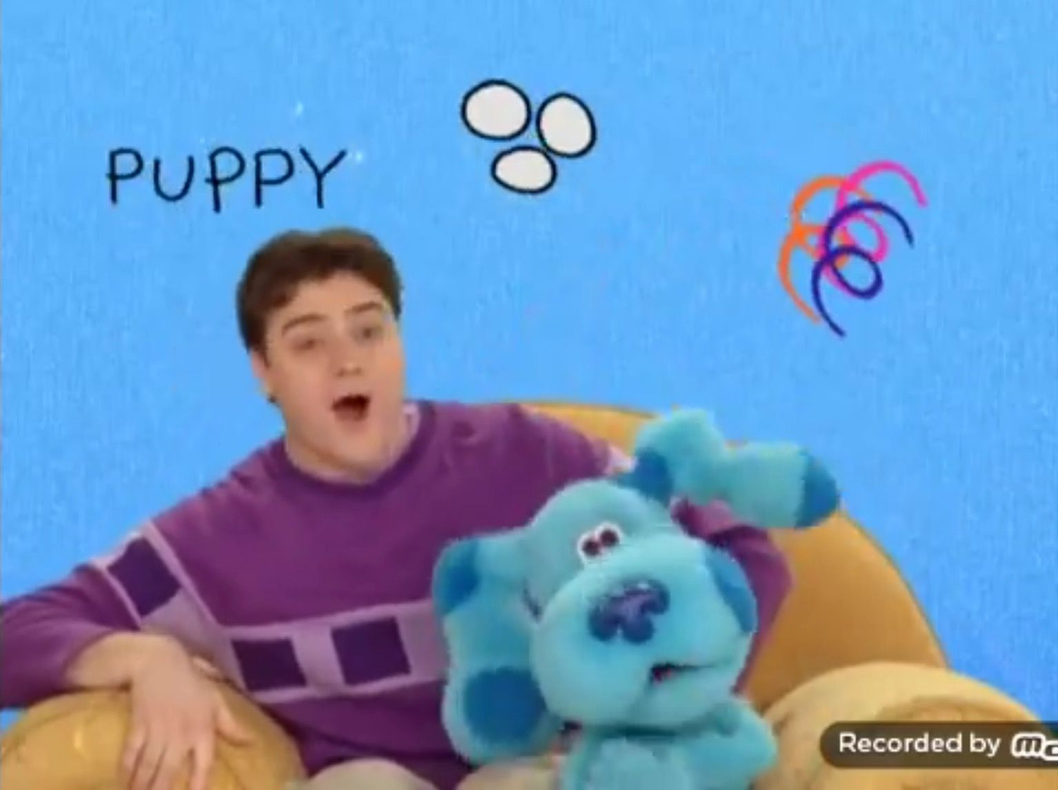 joe and blue collect the gold clues to find blue u0027s baby brother