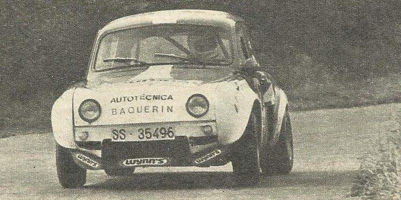 Dauphine Proto De Carlos Arenzana Autos Y Coches