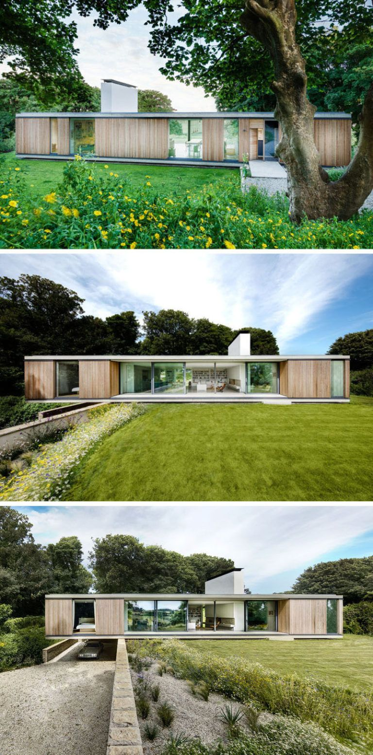Progetti Case Moderne Su Un Piano.15 Examples Of Single Story Modern Houses From Around The World