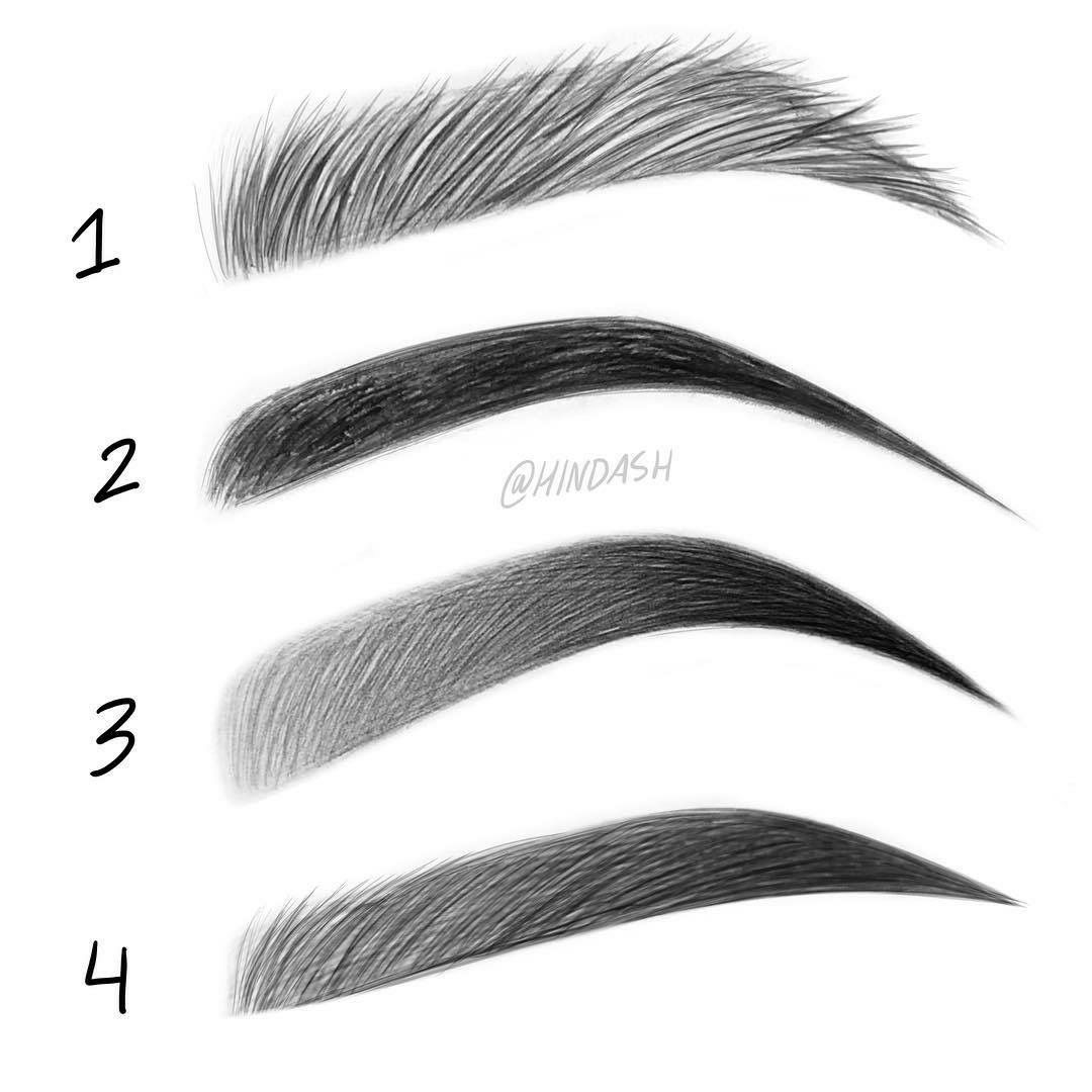Permanent Sketch Book: Pin By Sofia A. On Eyebrows