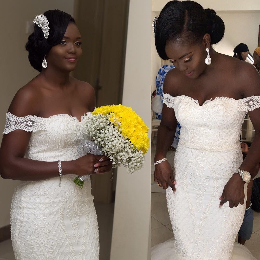 Pretty black braids in pinterest black bride wedding