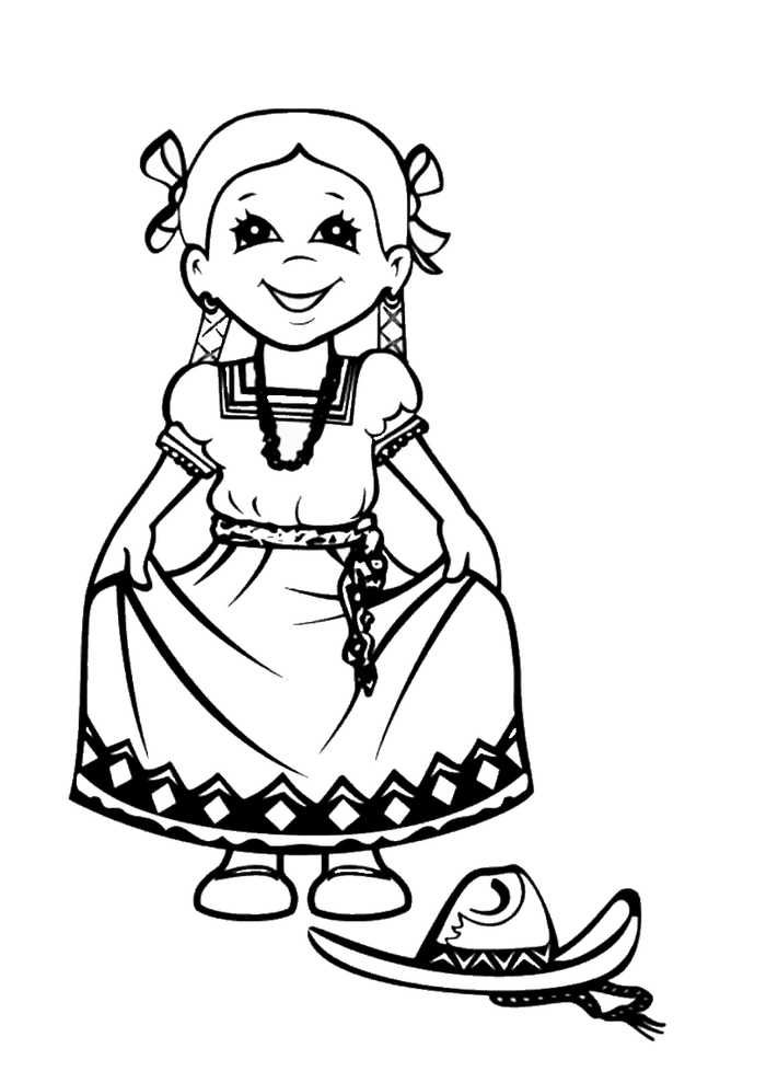 Printable Cinco De Mayo Coloring Pages   Coloring pages ...