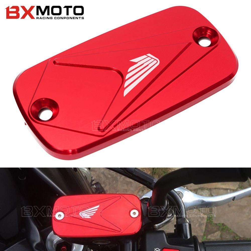 Front Brake Clutch Rear Brakes Fluid Reservoir Cover For HONDA CB1000R CB 1000R