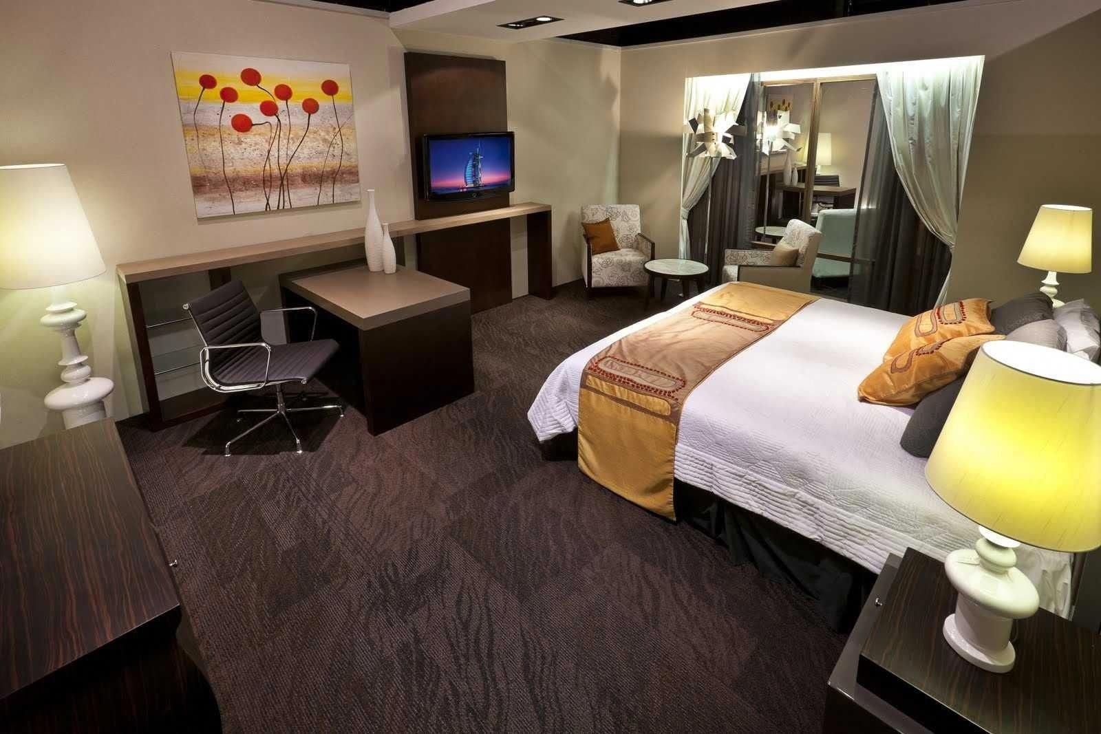 7 fantastic dark brown carpet bedroom ideas