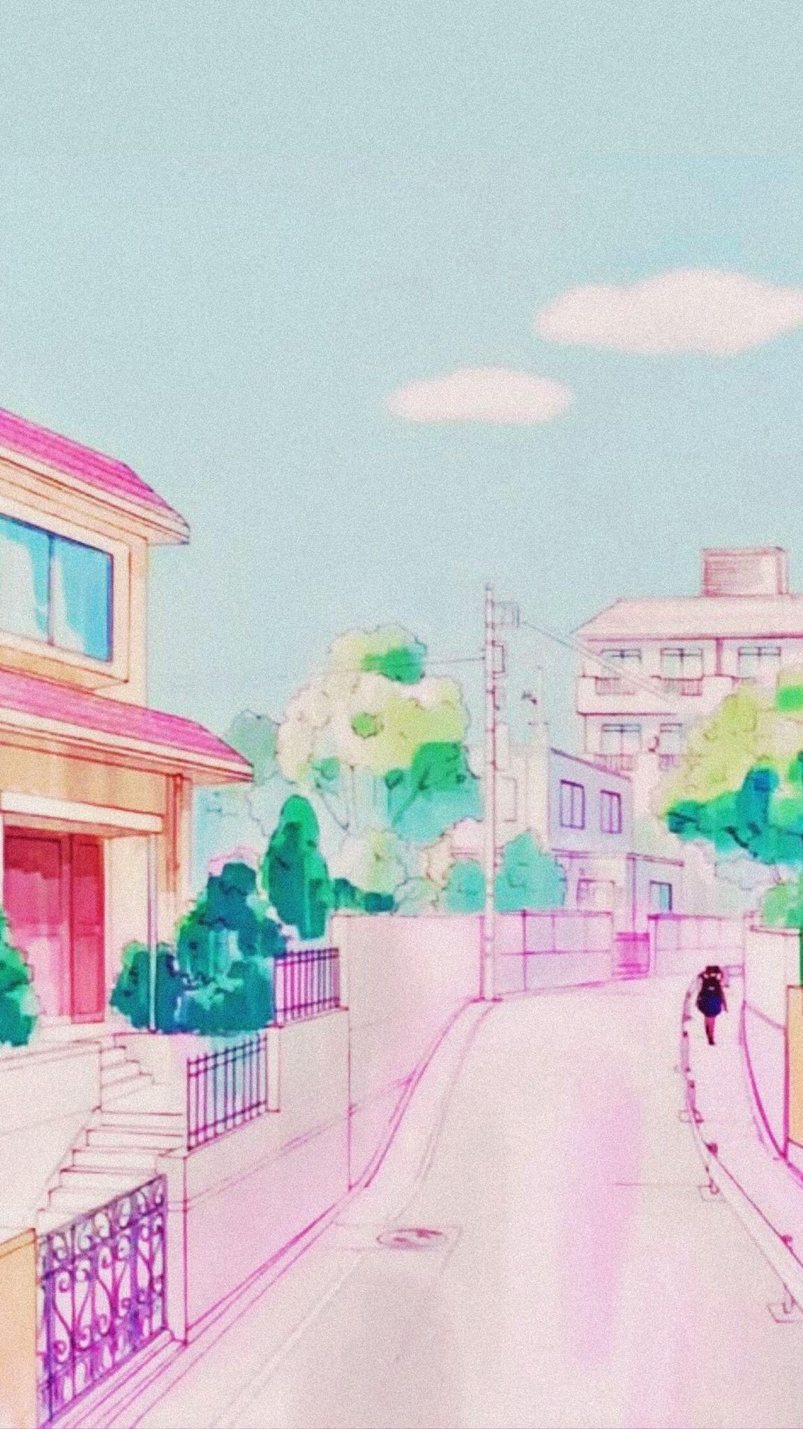 Anime Aesthetic 90s Lockscreen Animefanart Animelovers Animeislife In 2020 Anime Wallpaper Anime Background Aesthetic Anime