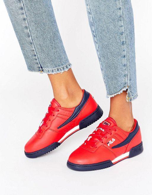 half off dbbe0 48d6c Tolle sneaker rot damen   moda detale   Schuhe damen, Rote ...