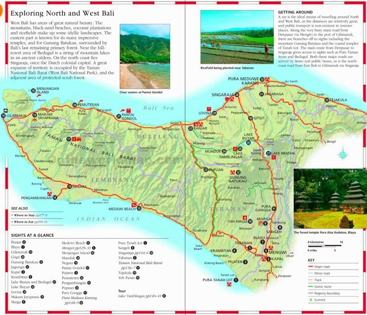 Bali tourist map Pinterest Tourist map and Indonesia