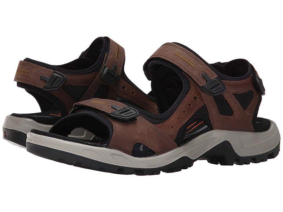 ECCO Sport Yucatan Sandal Men's Toe Open Shoes Espresso