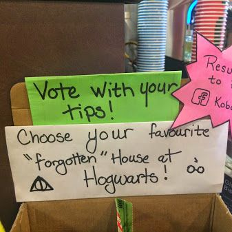 "This week's ""Tip Jar Showdown"" is of the forgotten houses of Hogwarts: Ravenclaw vs. Hufflepuff!  Which house do you reign from? Find out here: http://www.thealmightyguru.com/Reviews/HarryPotter/Docs/Quiz-House.html"