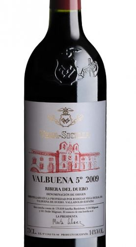 Vega Sicilia Valbuena 5º Año 2009 Ribera Del Duero Vinos Y Quesos Beber Vino Botellas De Vino