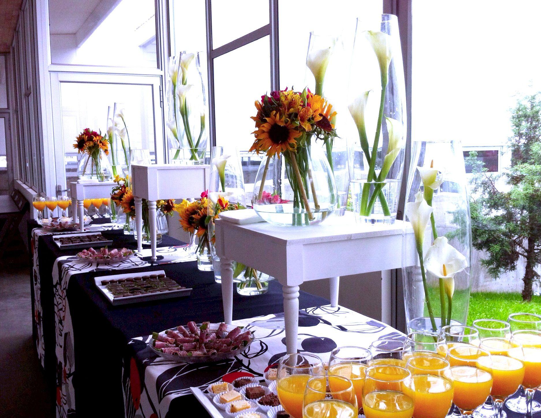 Centros de mesa de comunin en pinterest decoraciones de - Decoraciones de mesas ...