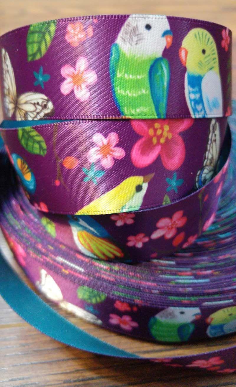 73edd514f9b2 lovely birds ribbon by HosannArt