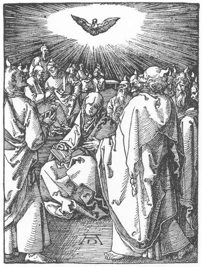 The Descent of the Holy Spirit (1511) - Albrecht Durer