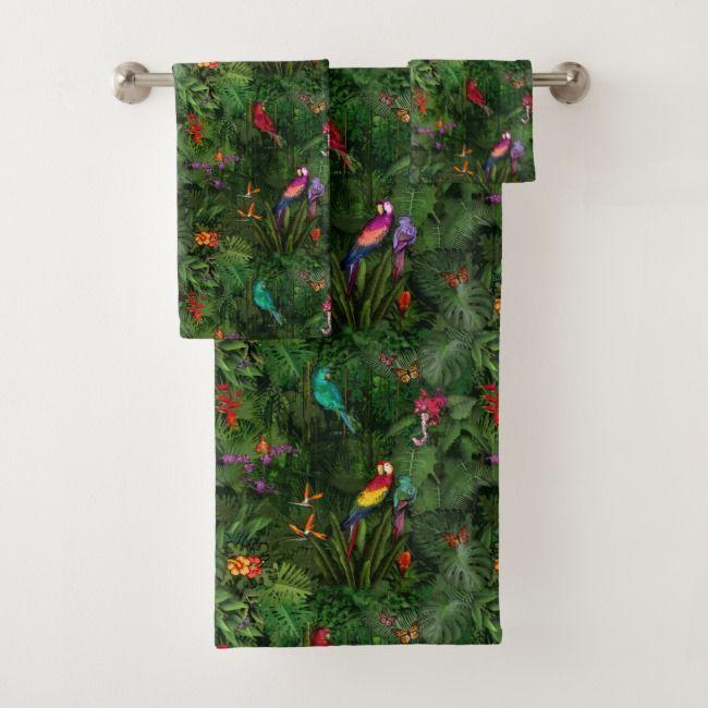 Jungle Bath Towel Set