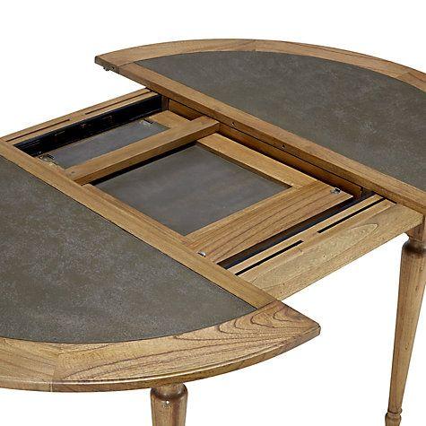 Buy John Lewis Belmont 6 Seater Round Extending Dining Table