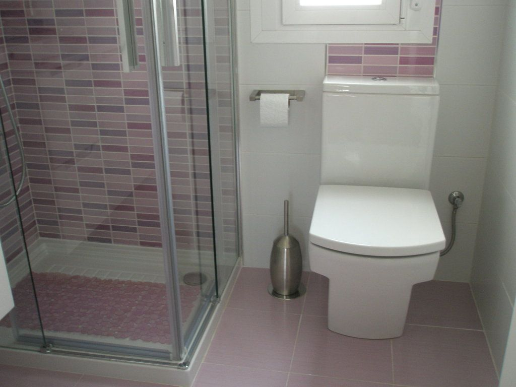 Nuestros ba os peque os powder room room ideas and for Bano pequeno ideas