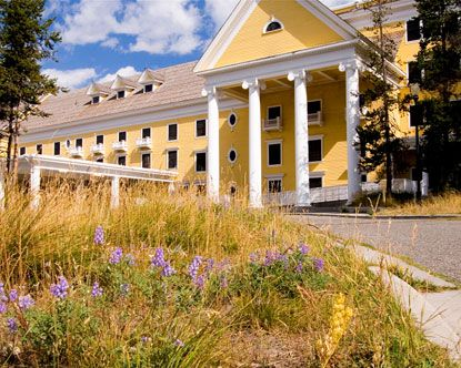 Hotels In The Yellowstone National Park Area Lake Hotel