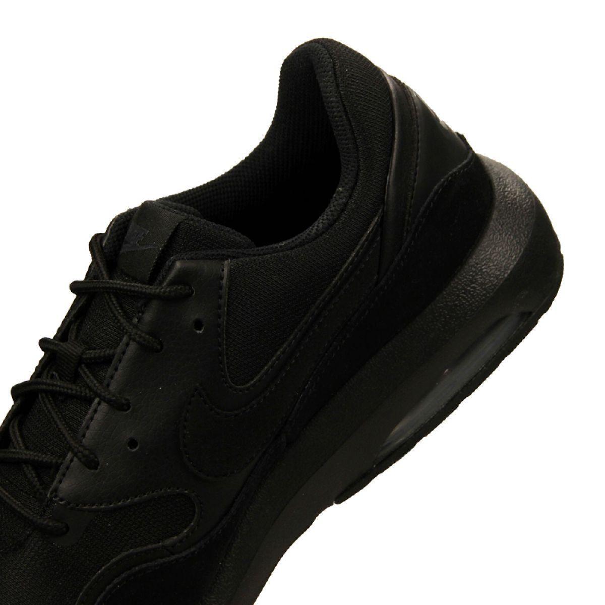 Buty Nike Air Max Nostalgic M 916781 006 Czarne Nike Air Max Black Shoes Nike Air