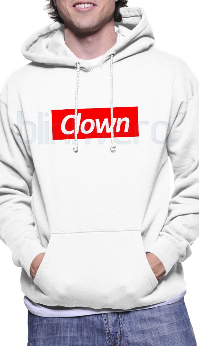 85424336d9d5 clown supreme logo sweater awesome hoodie unisex   Price   30   FREE  Shipping     gift shirts