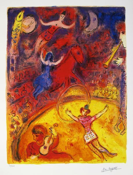 Prints by Marc Chagall Circus | Results for Fine Art:CHAGALL, Marc - Giclees