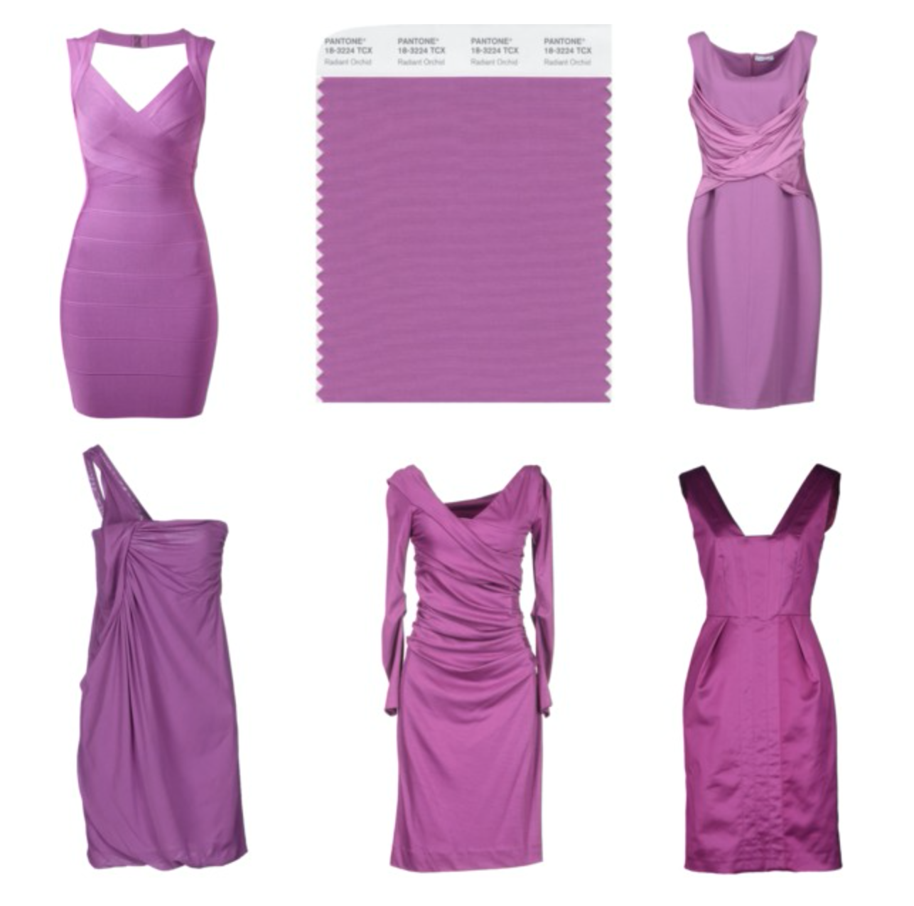 How to wear the Pantone color Radiant Orchid - Dresses   Mother Of ...