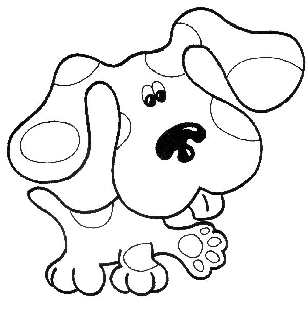 Nickjr S Blues Clues Coloring Book Printables Coloring Pages For Kids Blues Clues Super Coloring Pages