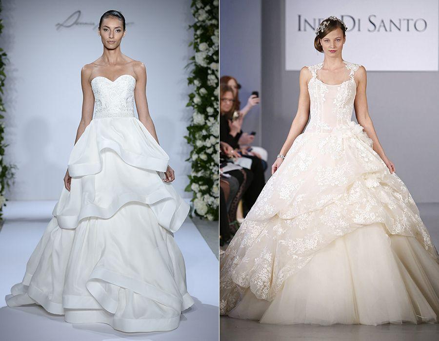 Wedding Dress Trends Of 2015 Claudettes Pinterest Blog Wedding