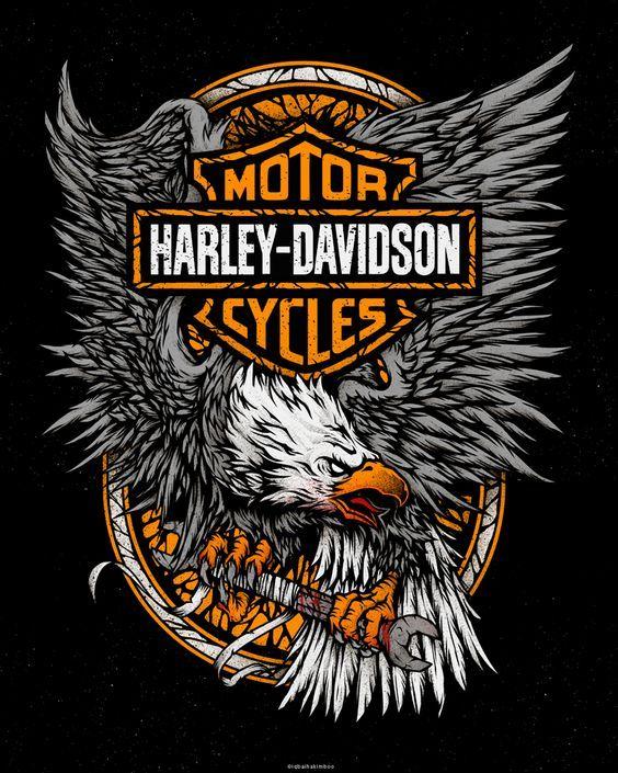 Harley davidson apparel on behance knights pinterest for Free harley davidson tattoo designs