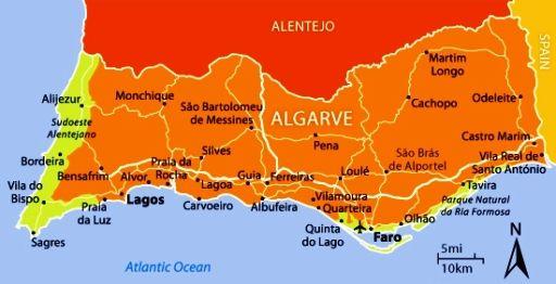 Lagos Portugal Tourist Map Tourism Company And Tourism