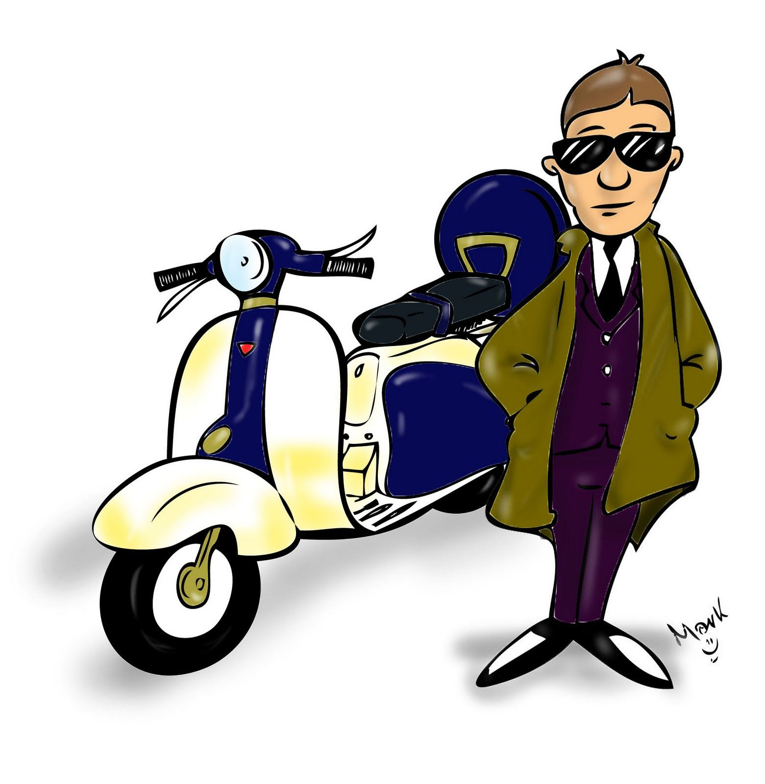 We Are The Mods Mod Scooter Vespa Vintage Scooter