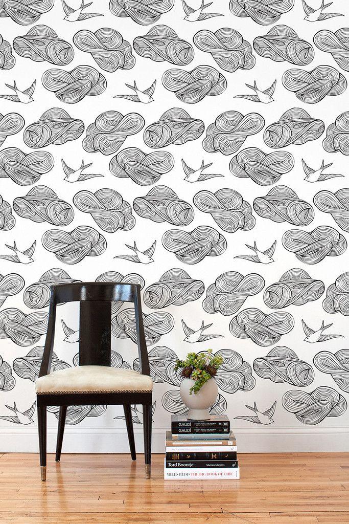 Daydream (Black/White) Tiles, Set of Tiles White tiles