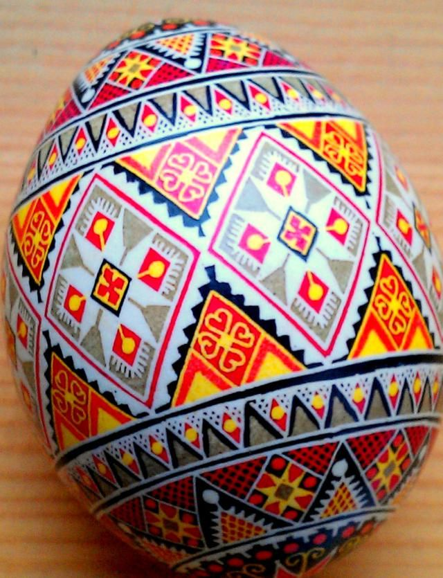 Ukrainain Eggs Or Pysanky Are Rich With Symbolism Eggs