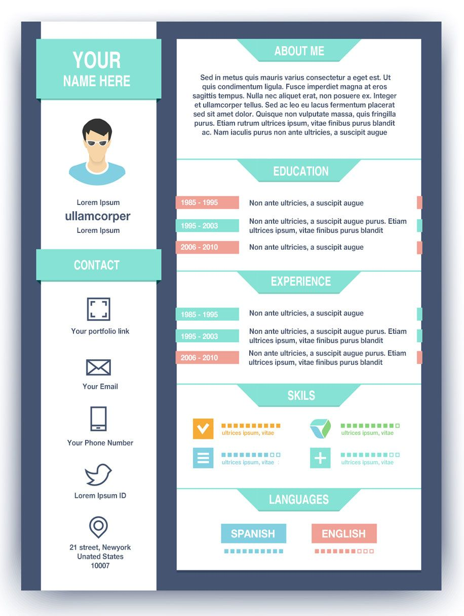 modern cv example original cv layout resume templates cv how to create a high impact graphic designer resume