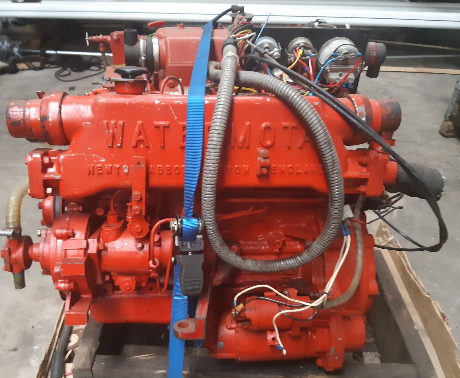 Https Www Bonanza Com Listings Ford Watermota Seapanther 4 Cylinder 30 Hp Freshwater Cooling 818063629 Engines For Sale Marine Diesel Engine Ford