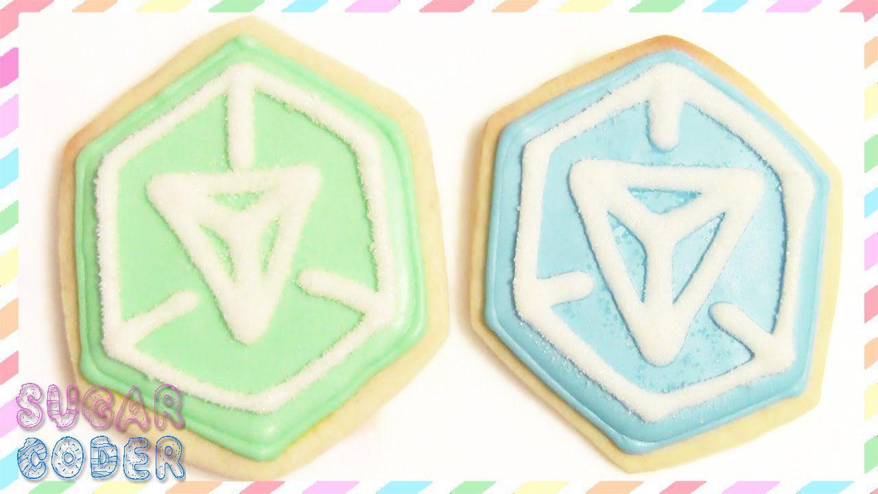 Ingress Cookies By Sugarcoder Cookies Dessert Decoration Ingress [ 720 x 1280 Pixel ]