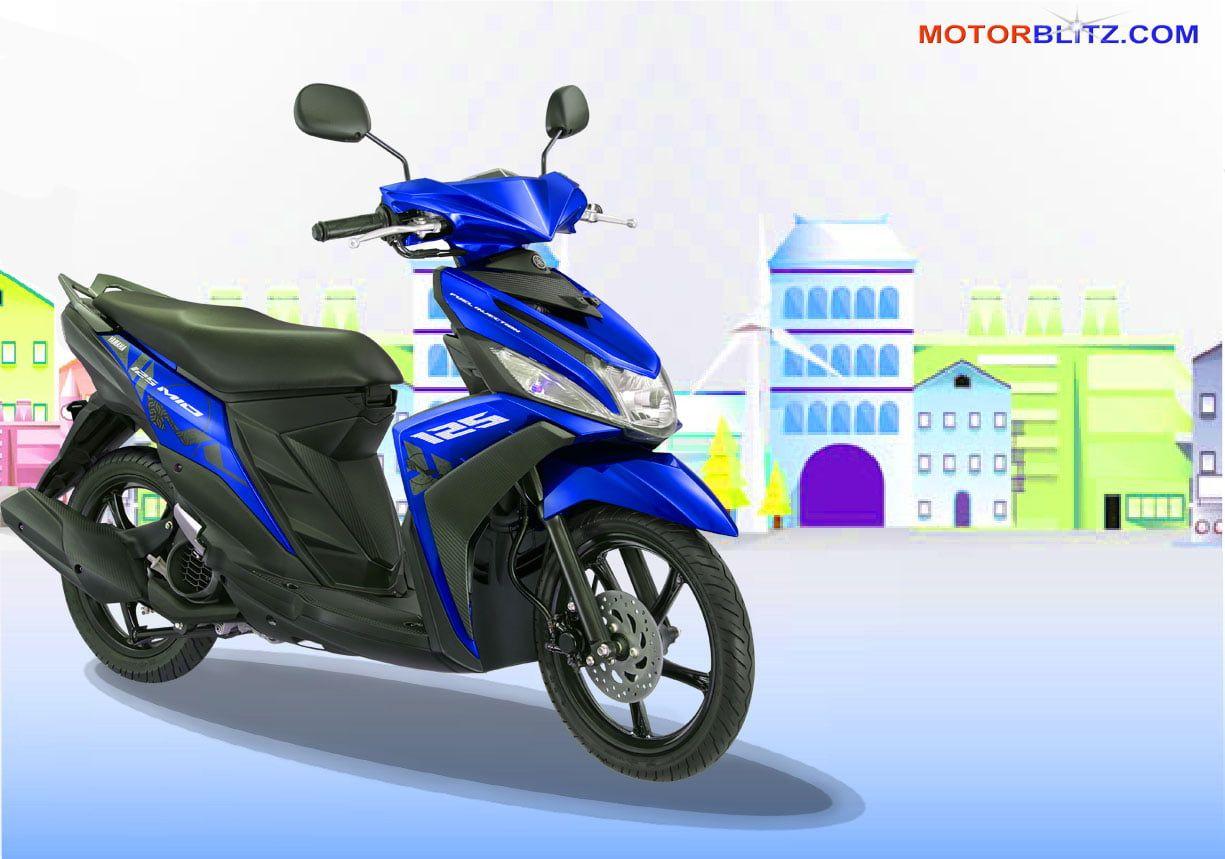 Modifikasi Motor Mio M3 Warna Biru Motor Mobil Mobil Baru