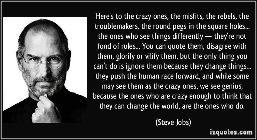 Steve Jobs Steve jobs quotes, Job quotes, Image quotes
