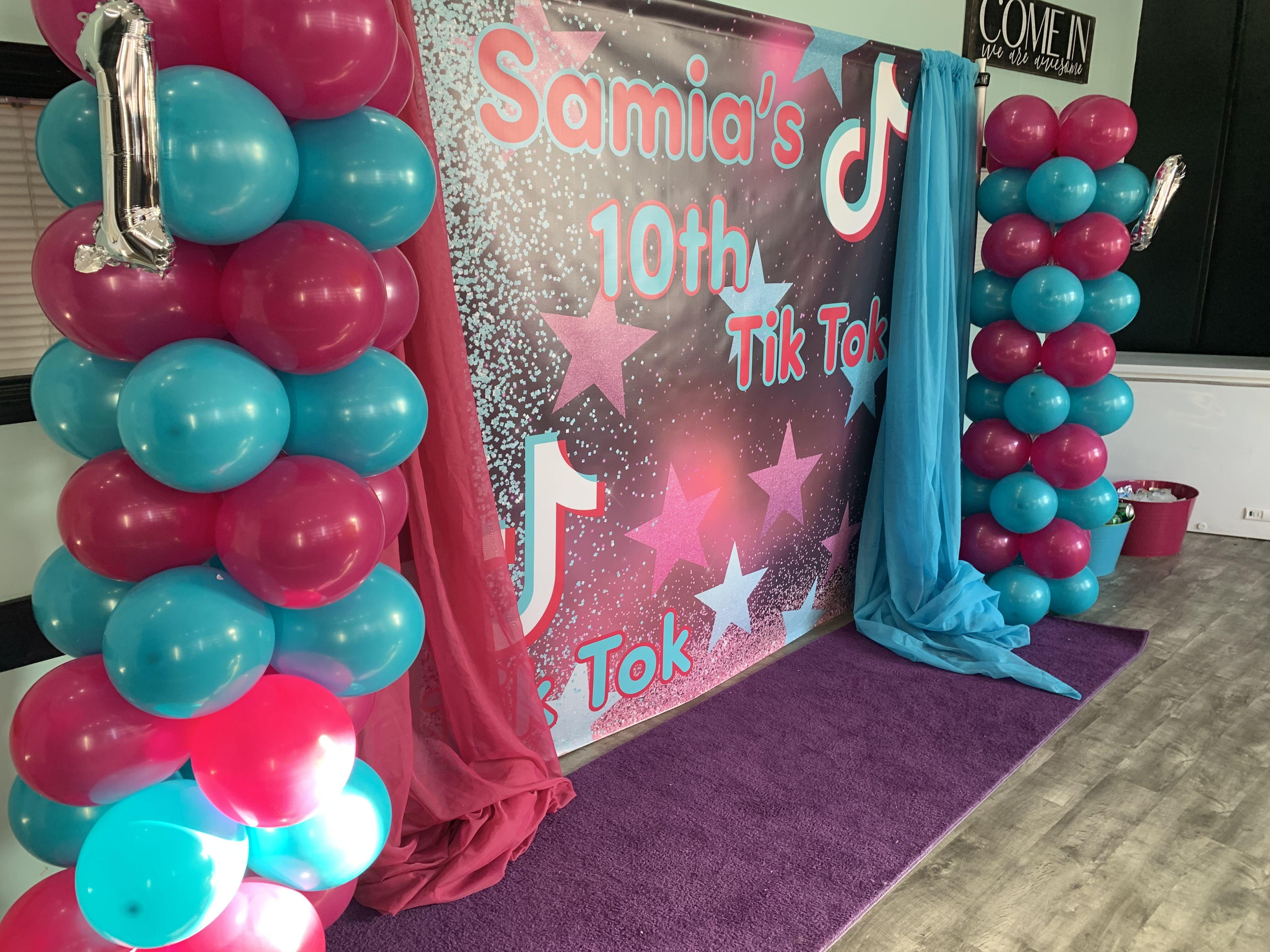 Tiktok Birthday Party Teenage Birthday Party Birthday Surprise Party Birthday Party Set