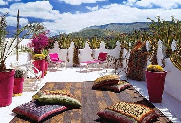 Decoracion De Patios Estilo Morocco Marroqui Patios Y Jardines Decoracion De Patio Decoracion Marroqui Moderna Sala De Exterior