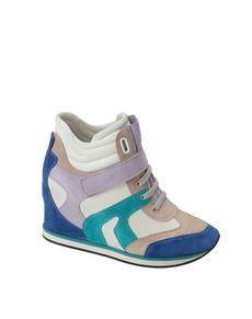 De El Mujer Deportivas Geox Zapatos Zapatillas Corte WEDHIY92