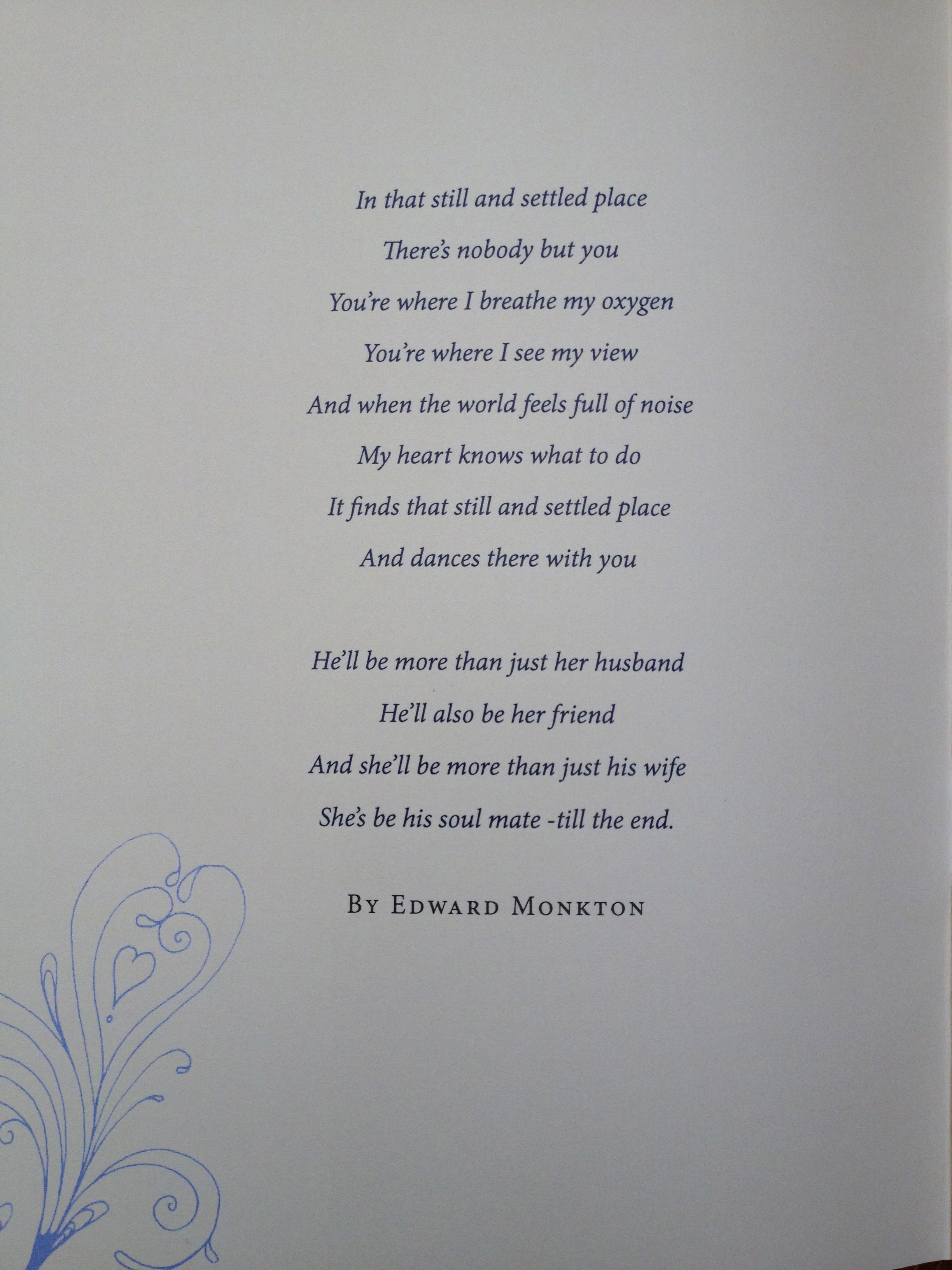 Like readings wedding quotes should reflect the
