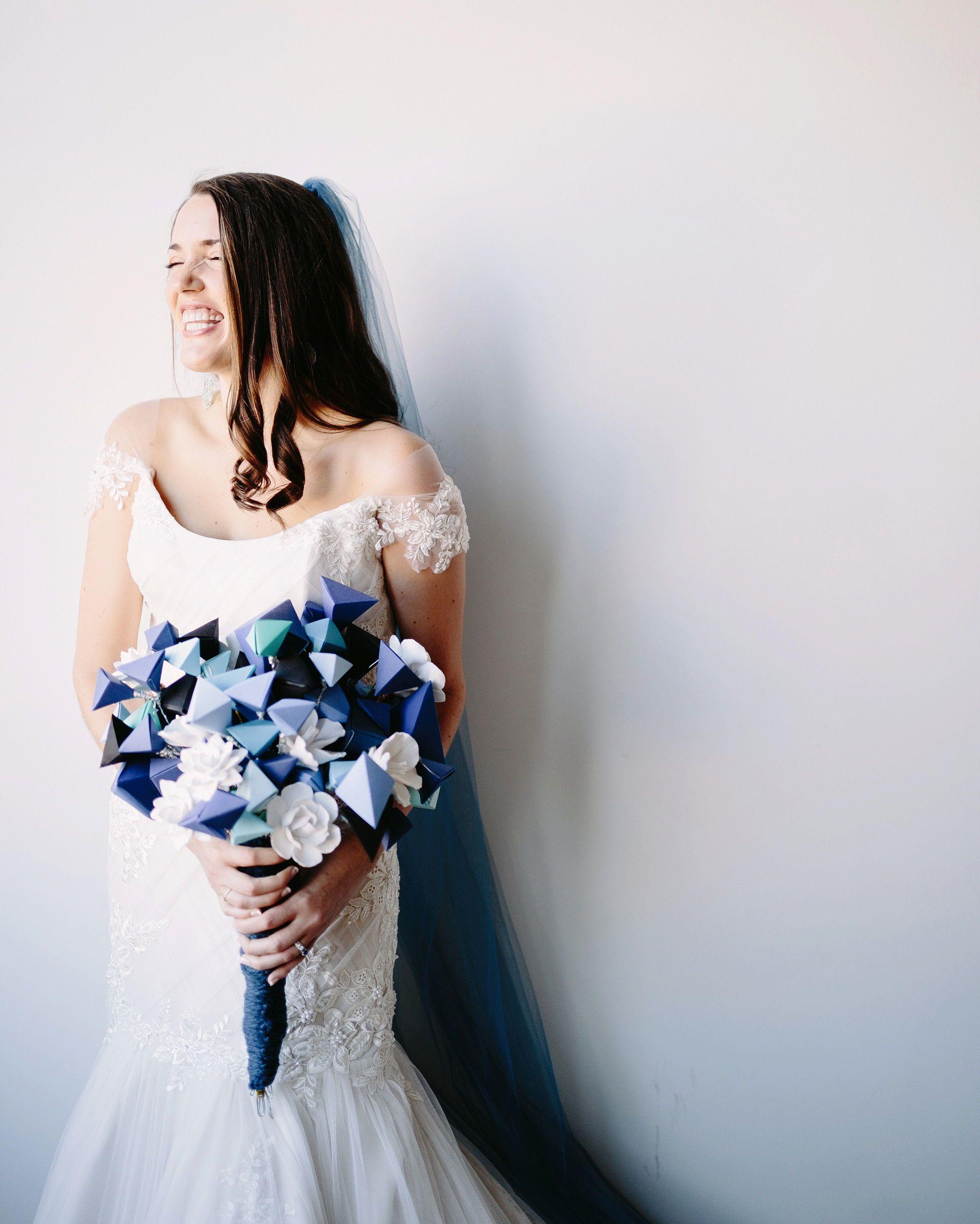 Wedding Bouquets Without Flowers: Unique Wedding Bouquets Without A Flower In Sight