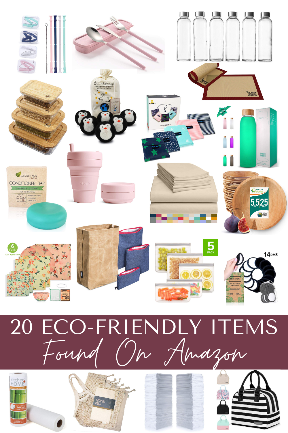20 Eco Friendly Products Found On Amazon Live Love Sophia In 2020 Environmentally Friendly Living Sustainable Living Waste Free Living