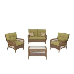 Martha Stewart Living Charlottetown Brown 4 Piece All Weather