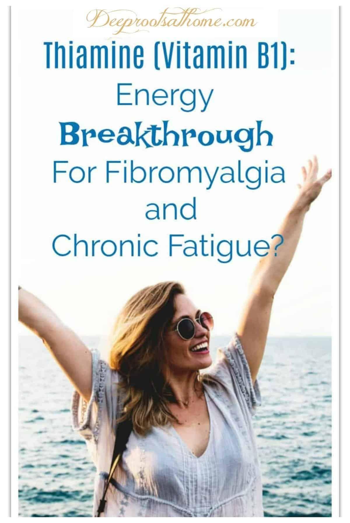 Thiamine (Vit B1): Energy Discovery For Fibromyalgia & Chronic Fatigue. #healthy #health #ideas #tip...
